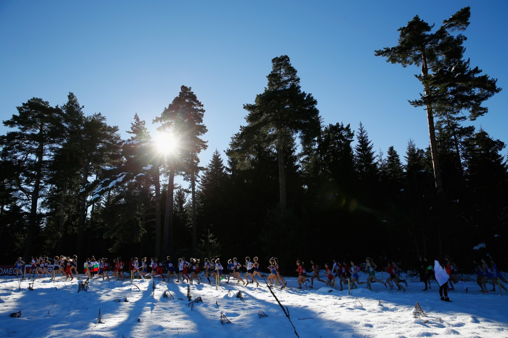 Cross country races do take place on snow, such as the 2014 European Championships in Samokov in Bulgaria ©Getty Images