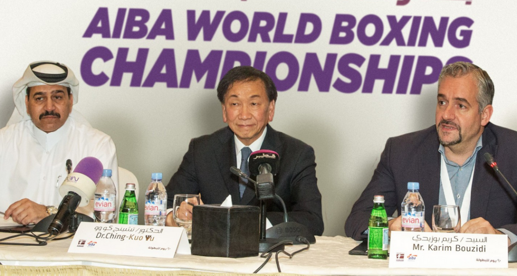 Venue for World Boxing Championships in Doha praised by AIBA President C K Wu as