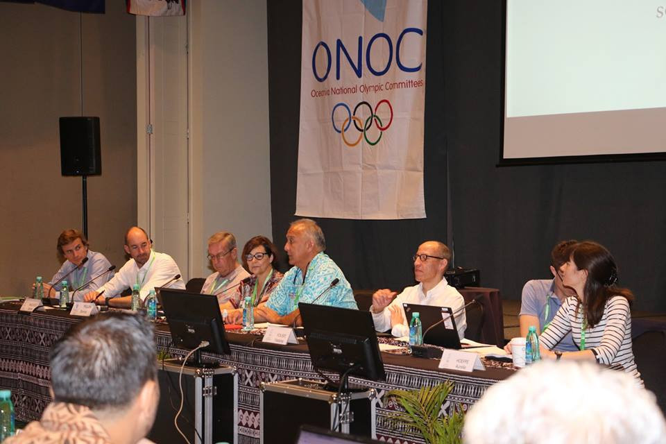 ONOC secretary general Ricardo Blas claimed Olympic Solidarity funding for the next quadrennial was significant ©Facebook