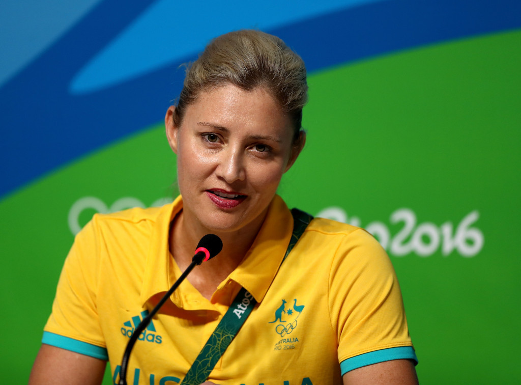 Former chief executive De Jong reportedly in dispute with Australian Olympic Committee