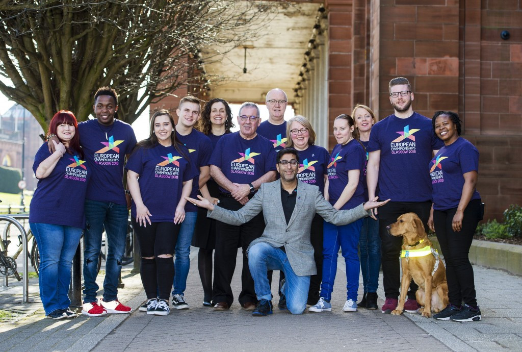 """Glasgow 2018 """"inundated"""" with volunteer applications just 24 hours after launch"""