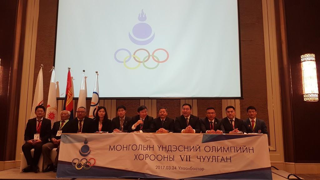 Zagdsuren re-elected President of Mongolian National Olympic Committee