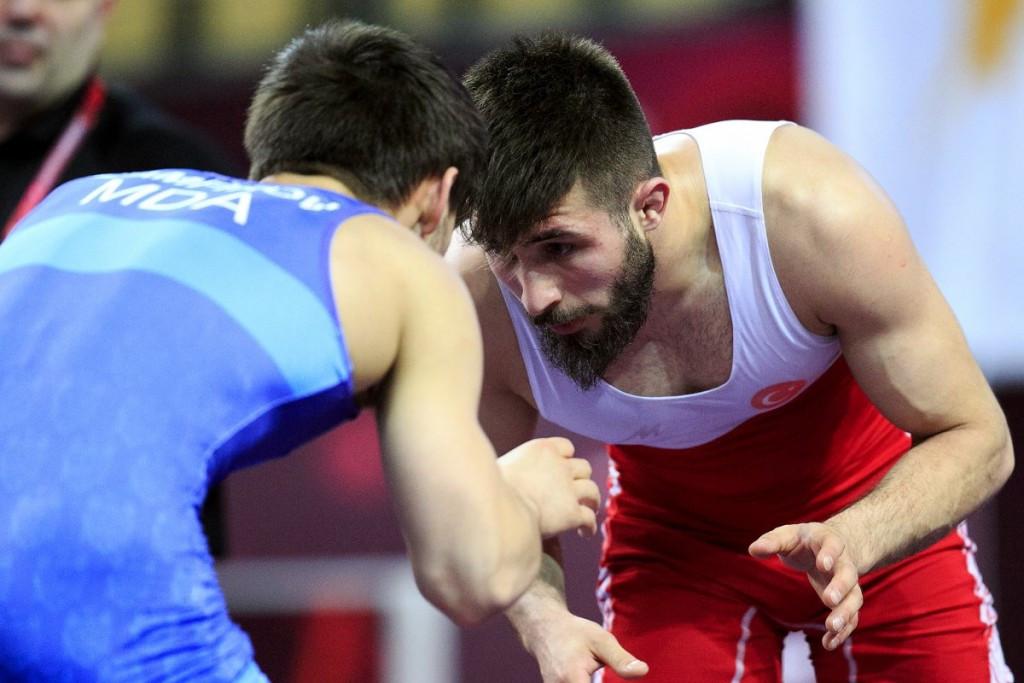 Atli wins European Under-23 Wrestling Championships gold