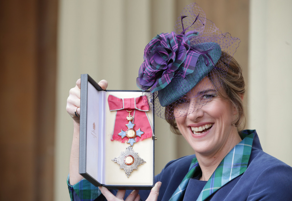 Katherine Grainger was officially made a Dame Commander of the Order of the British Empire earlier this month ©Getty Images