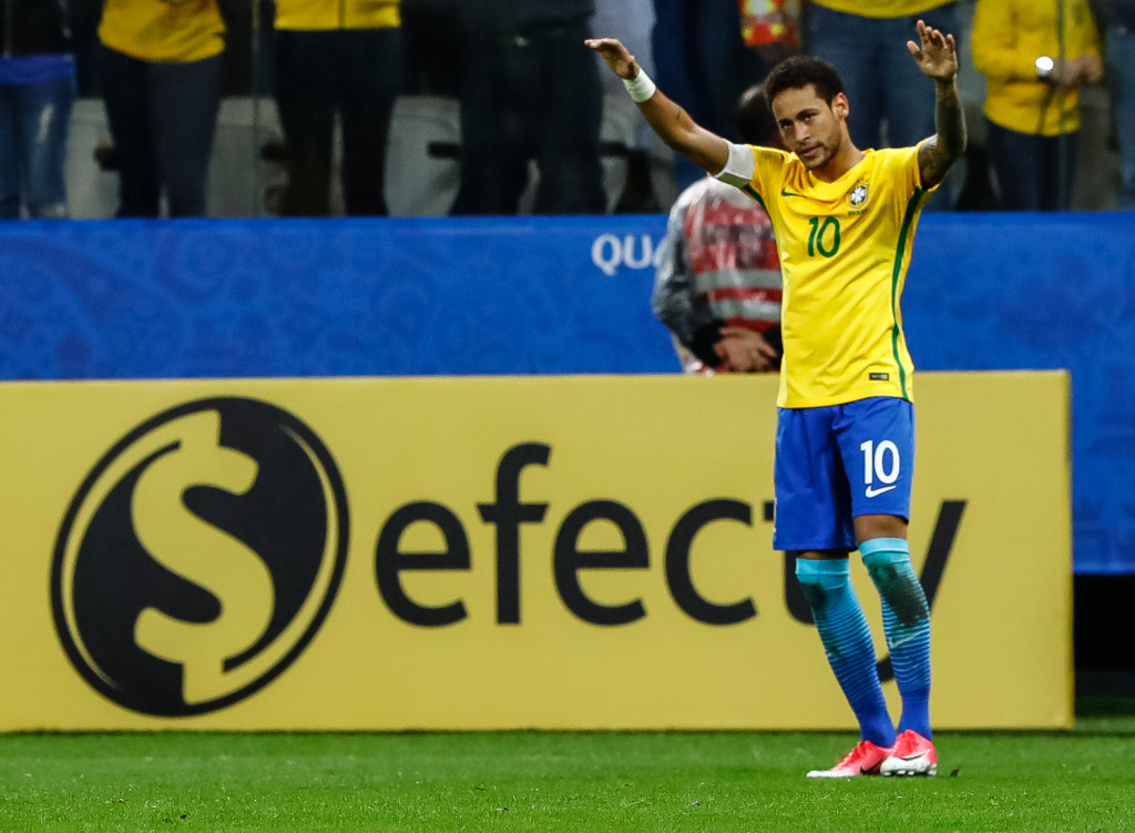 Brazil book place at 2018 World Cup
