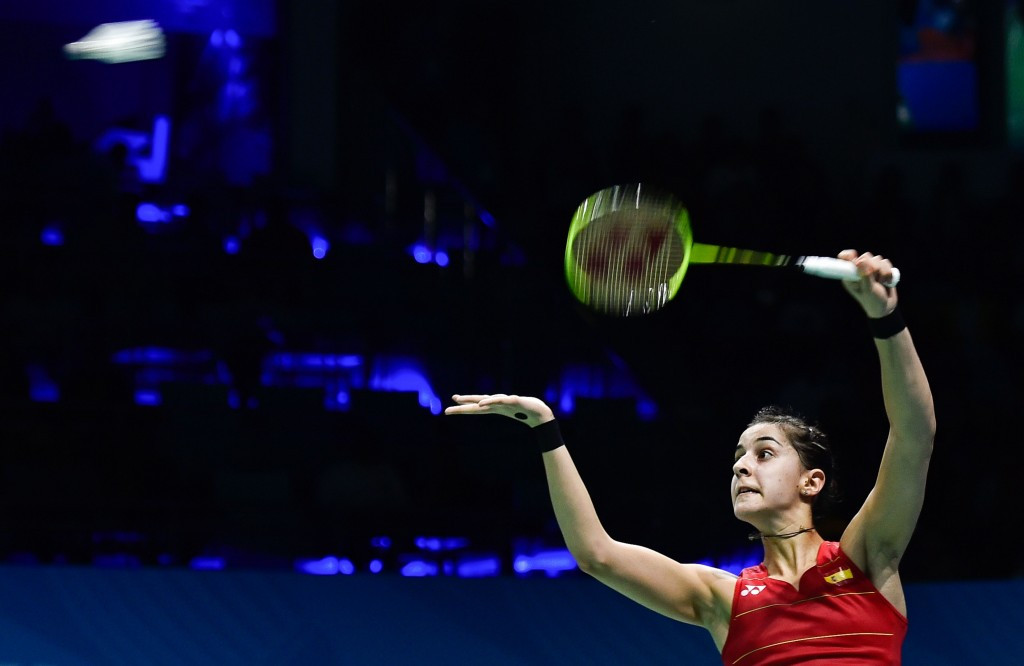 Top seed Marin makes winning start at BWF India Super Series