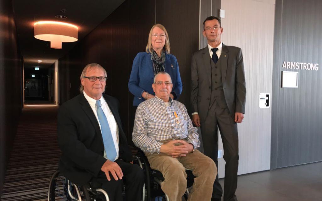 IWBF secretary general receives royal Dutch honour