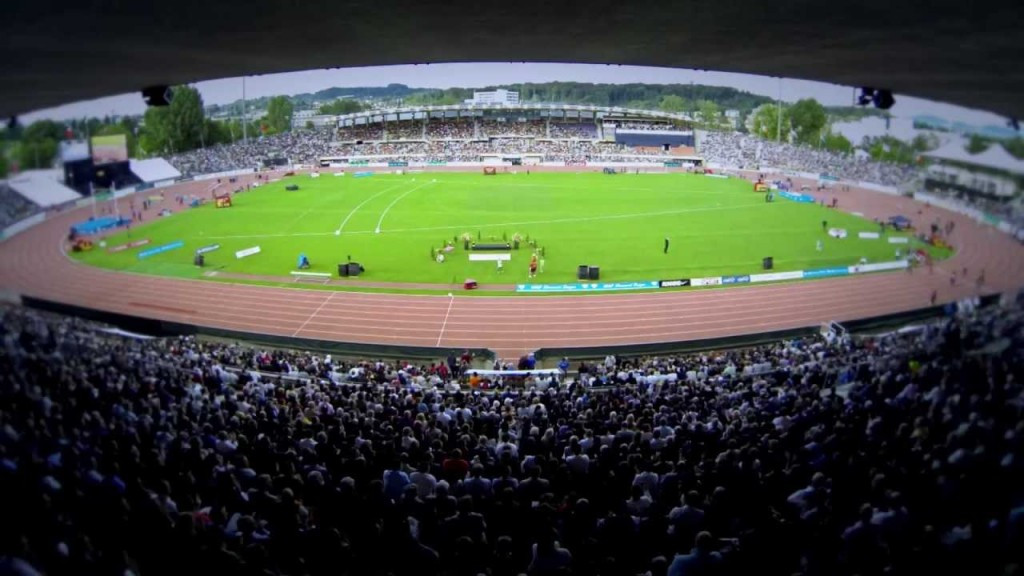 There is always a special atmosphere about the Athletissima meeting held at the Stade De La Pontaise