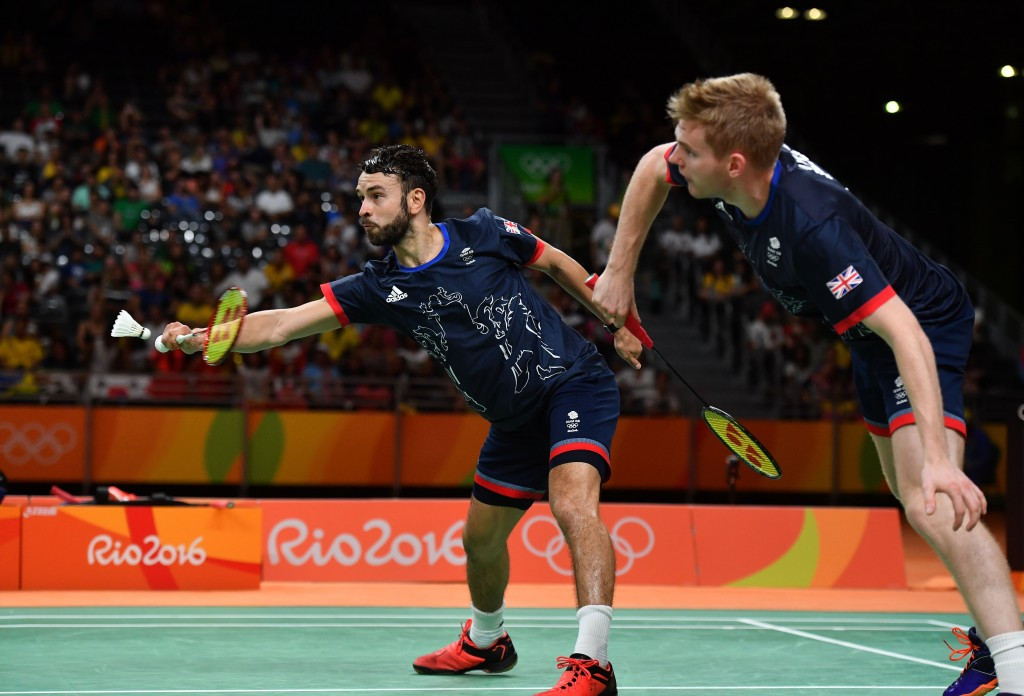Marcus Ellis and Chris Langridge claimed bronze for Britain in the men's doubles event at Rio 2016 ©Getty Images
