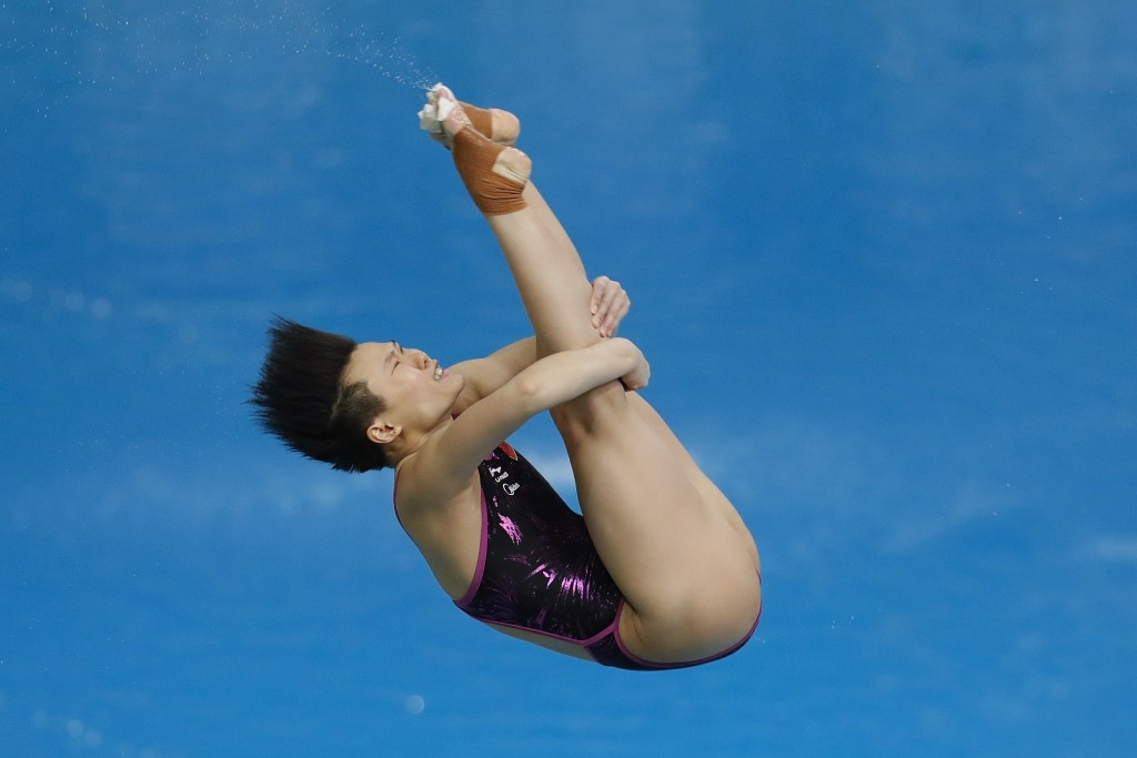 Double Rio 2016 Olympic gold medallist Shi Tingmao of China will be among those competing in Kazan ©Getty Images