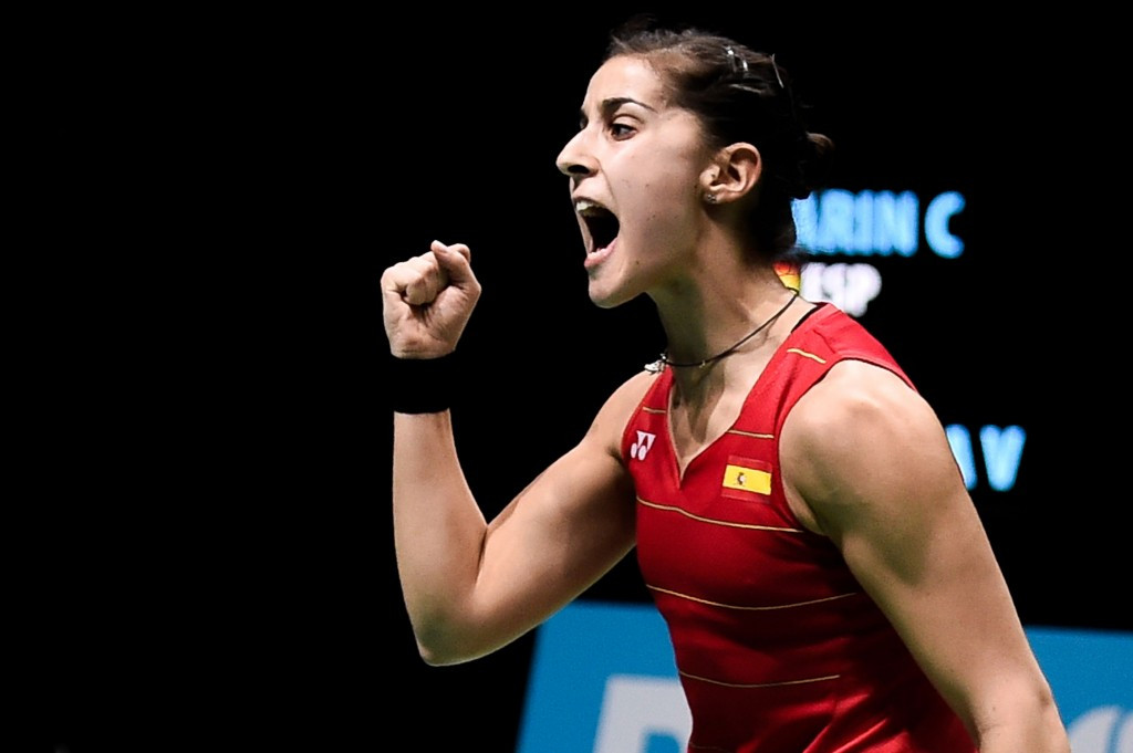 Olympic champion Marin through to quarter-finals at BWF India Super Series