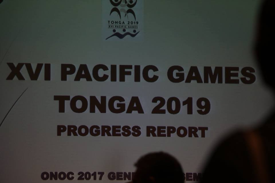Takitoa Taumoepeau admitted disagreements remained over the Games' golf course ©Facebook/ONOC Digest