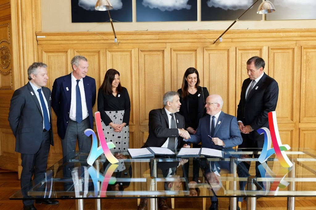 Bouygues Construction sign on as official partner of Paris 2024