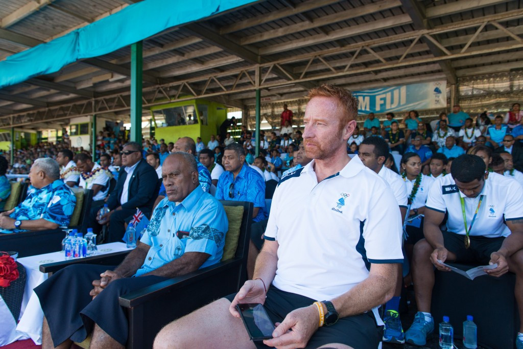 Ben Ryan was one of two recipients of the Fiji Olympic Order ©Getty Images