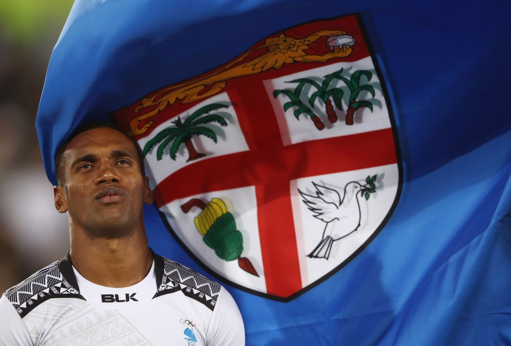 Fiji's Rio 2016 men's rugby sevens team were inducted into the FASANOC Hall of Fame ©Getty Images