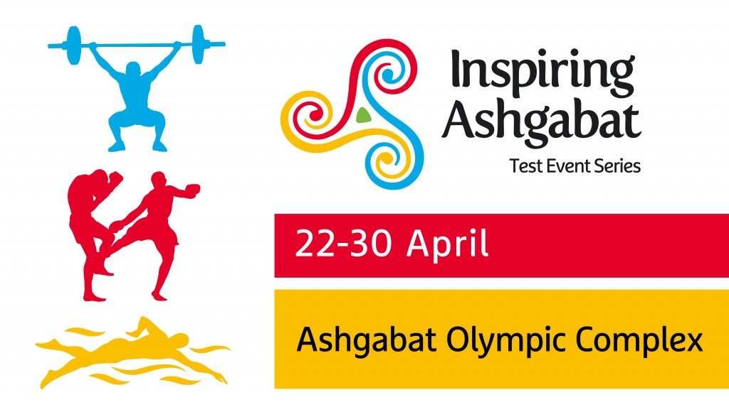Ashgabat 2017 unveil weightlifting, kickboxing and swimming Test Event Series