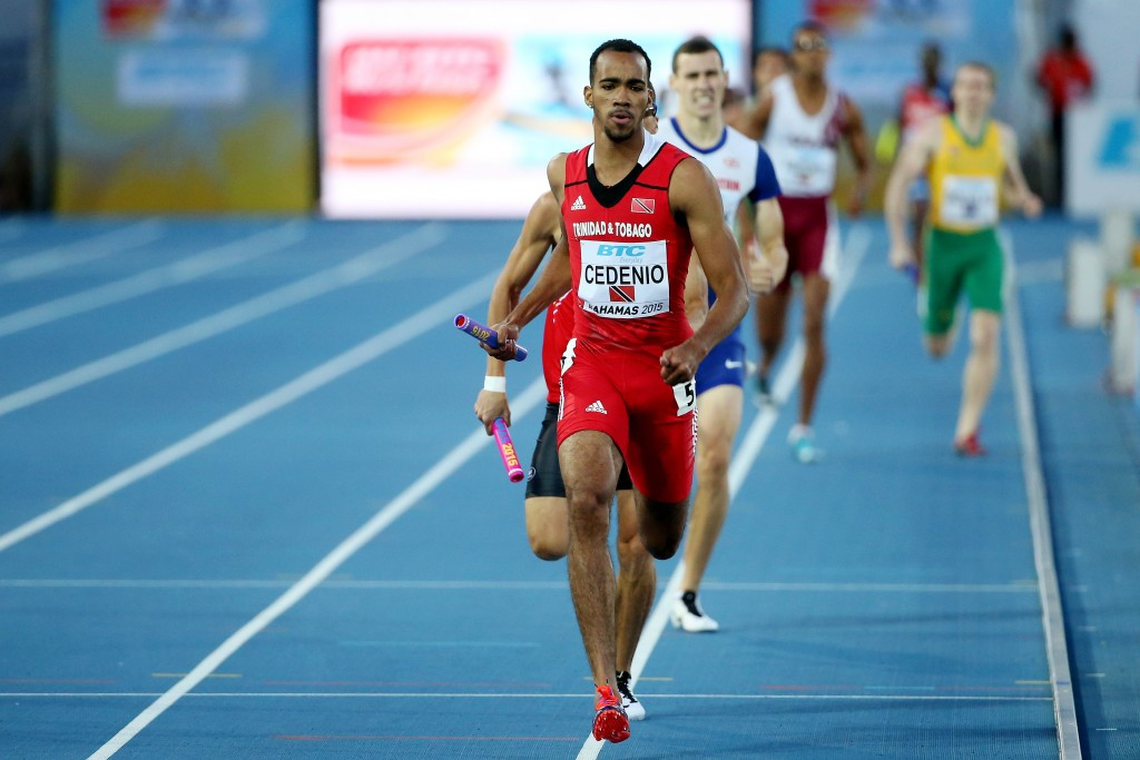 Budding 400m star Machel Cedenio is one youngster who will be targeting a medal in Toronto, and a possible bonus ©Getty Images