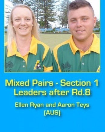 Ellen Ryan of Australia won section two of the women's singles event at the World Youth Bowls Championships ©World Bowls