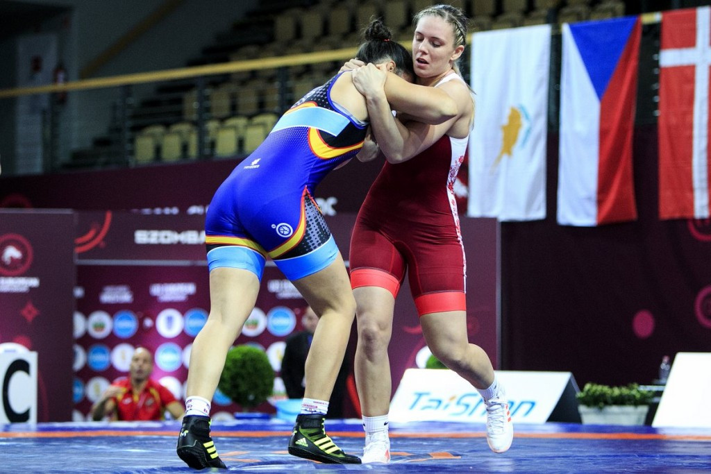 Kit and Nemeth defend titles at European Under-23 Wrestling Championships