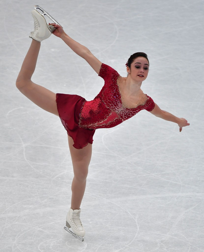 Kaetlyn Osmond led a 2-3 finish for Canada in the Finnish capital ©Getty Images