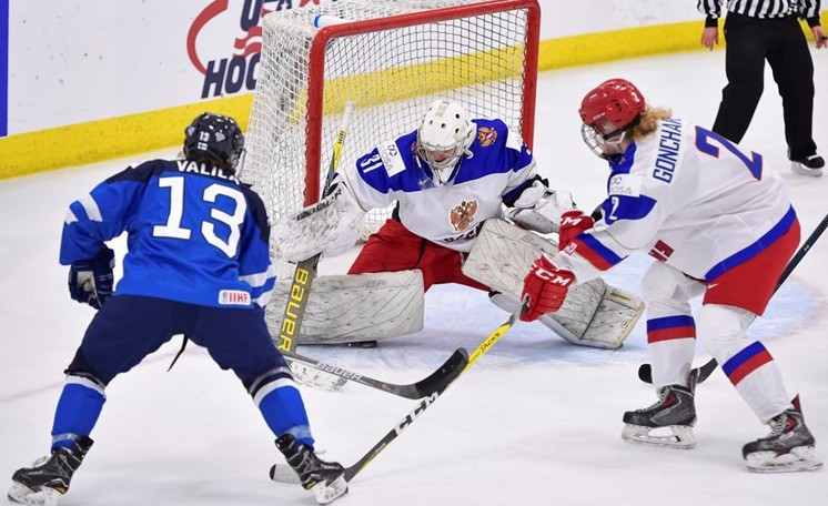 Russia also got off to a winning start as they overcame Finland ©IIHF