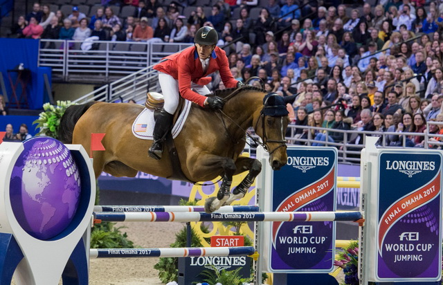 Ward wins again at home FEI World Cup Finals