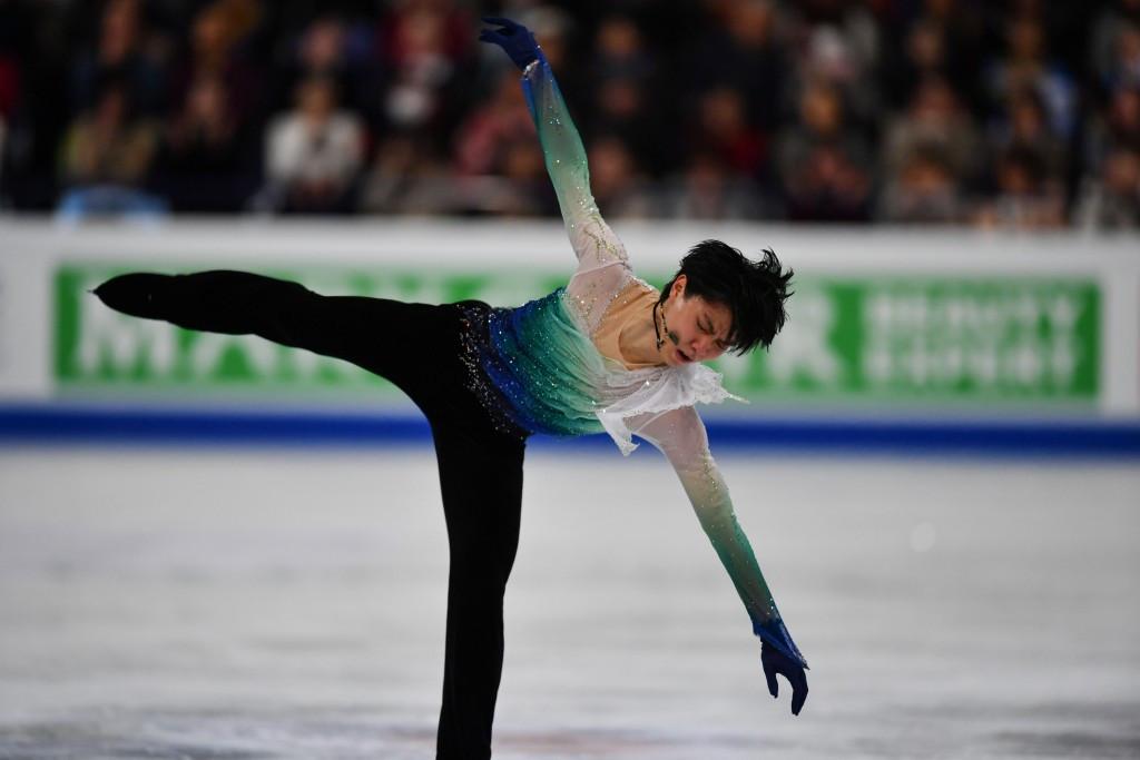 Yuzuru Hanyu claimed a second career world title ©Getty Images