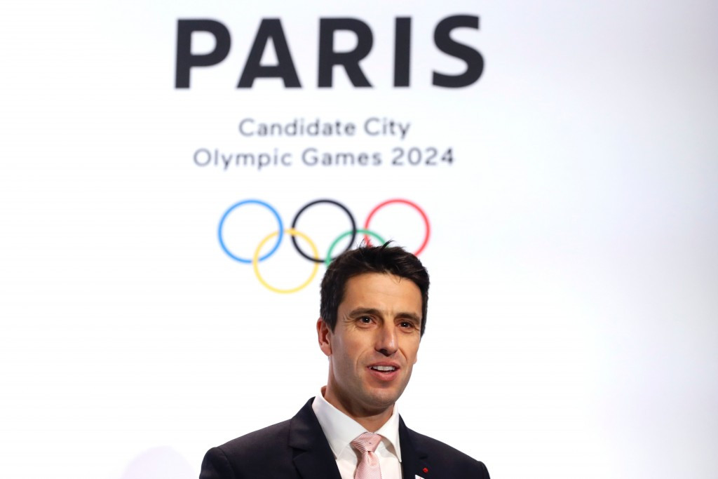 Paris 2024 co-chairman Tony Estanguet has ruled out the city hosting the 2028 Olympics ©Getty Images