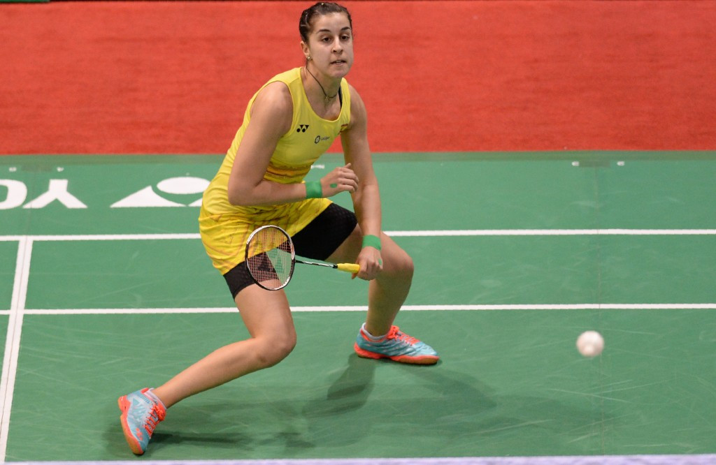 Marin to face Sindhu in repeat of Olympic final in New Delhi