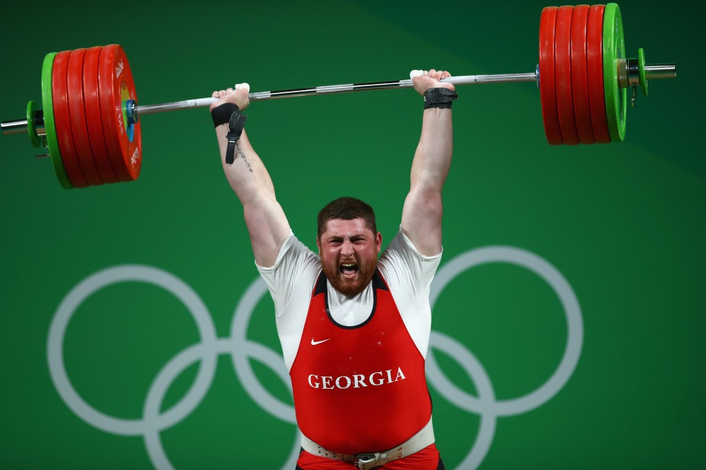 Lasha Talakhadze is the reigning world, Olympic and European champion ©Getty Images