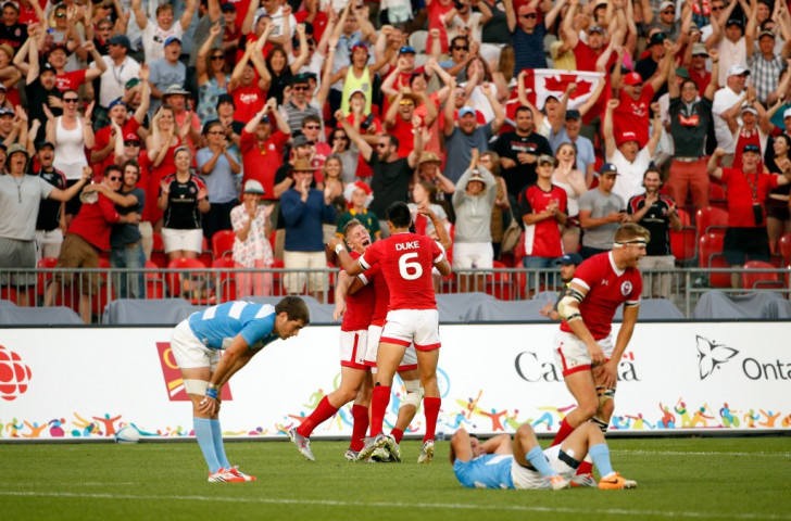 Comeback kings Canada claim last gasp win in Toronto 2015 rugby sevens thriller