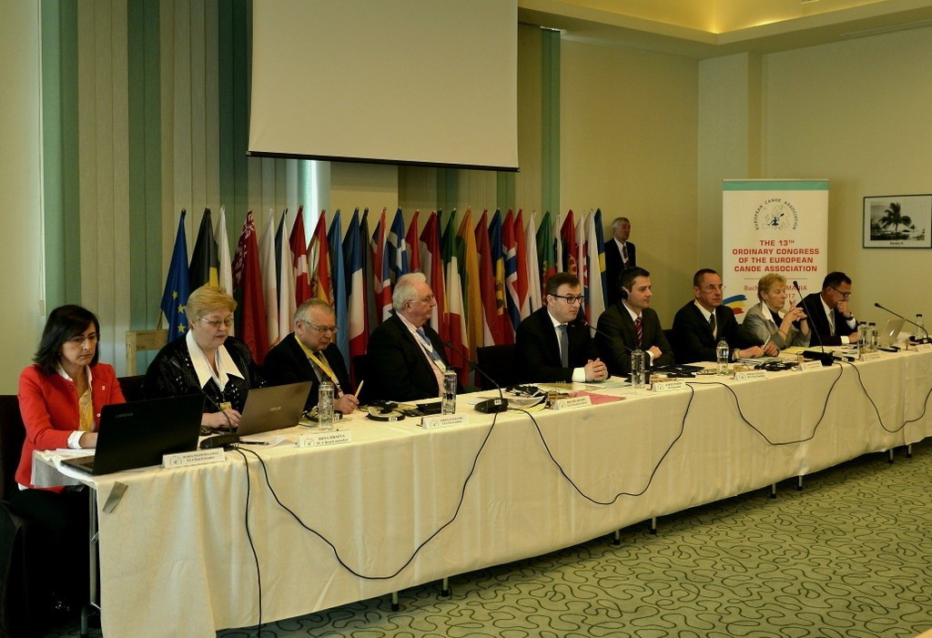 Haviar re-elected European Canoe Association vice-president at Congress