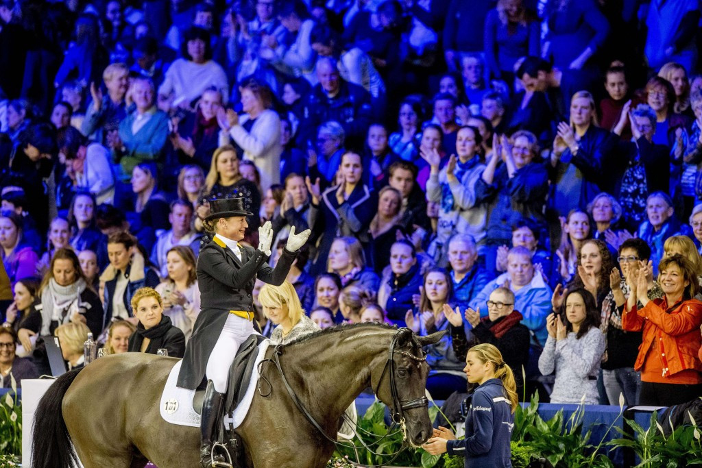 Werth claims third FEI World Cup Dressage title
