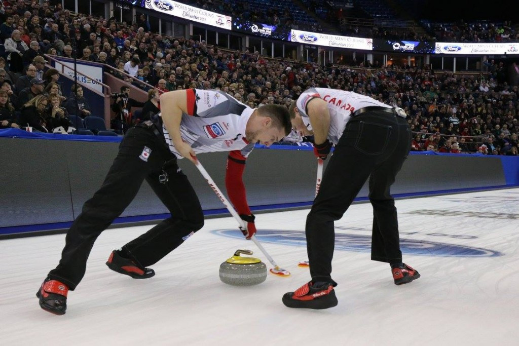 Hosts begin World Men's Curling Championship campaign with victory