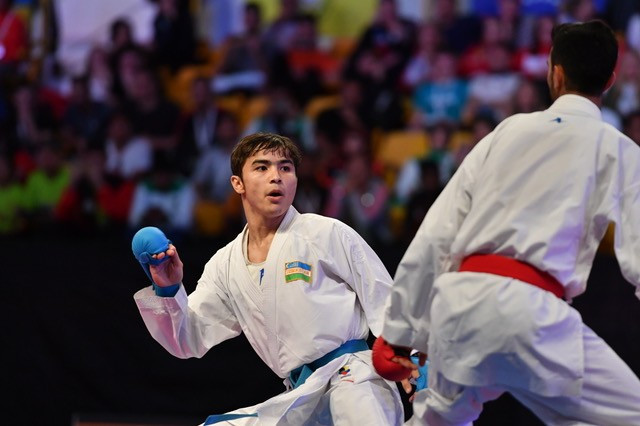 Saymatov continues sparkling form at Karate 1-Premier League in Dubai