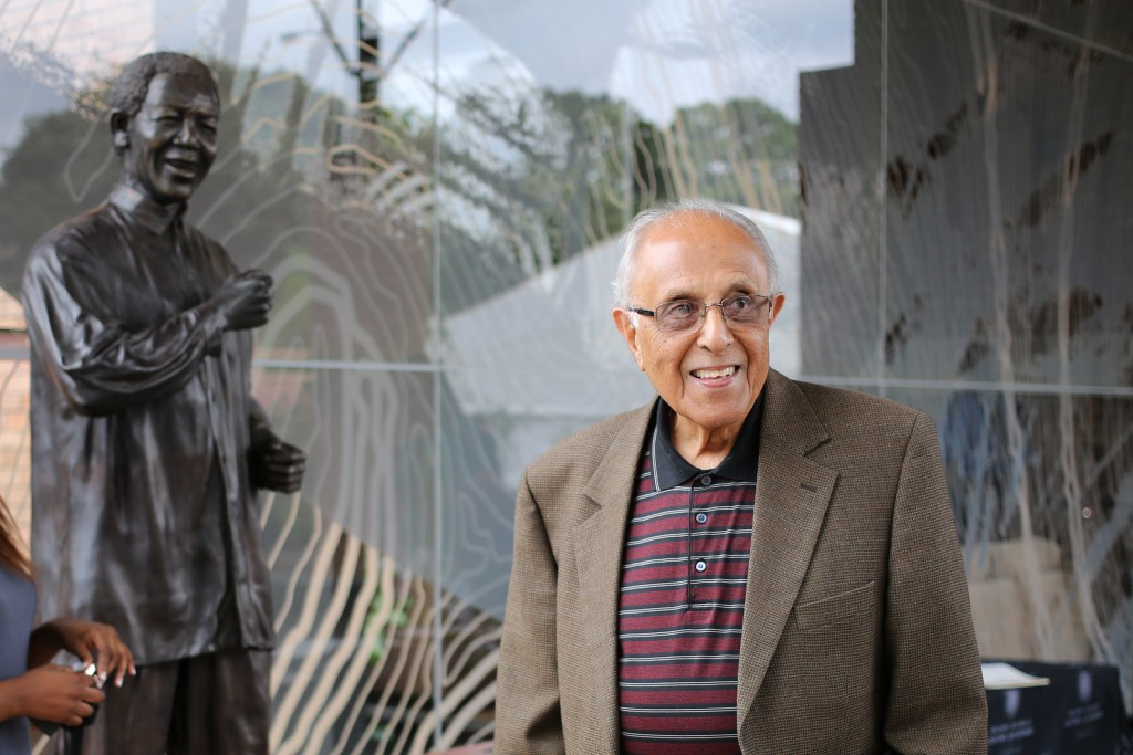 Ahmed Kathrada, pictured, was a political adviser to President Nelson Mandela ©Getty Images