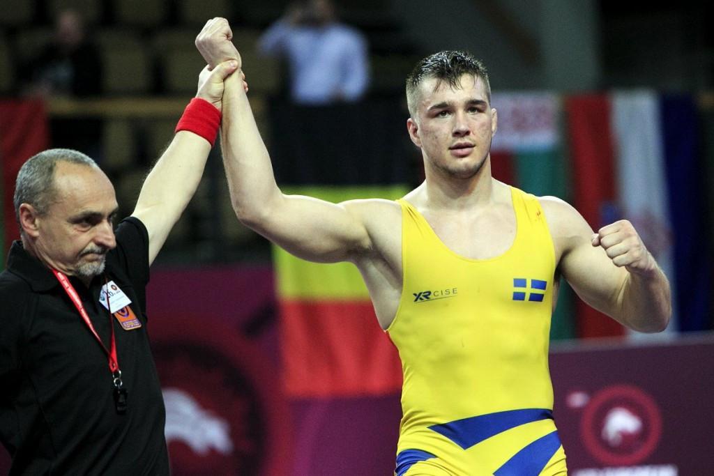 Berg shocks Rio 2016 medallist at European Under-23 Wrestling Championships