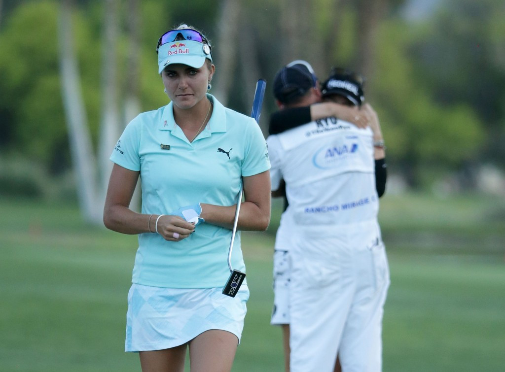 Lexi Thompson, pictured, went on to lose in a play-off to South Korea's So Yeon Ryu ©Getty Images