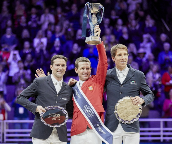 Ward finally seals FEI World Cup Jumping success in Omaha