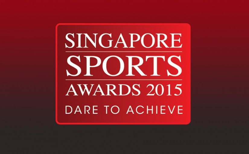 The nominees for the 2015 Singapore Sports Awards have been announced ©Singapore NOC