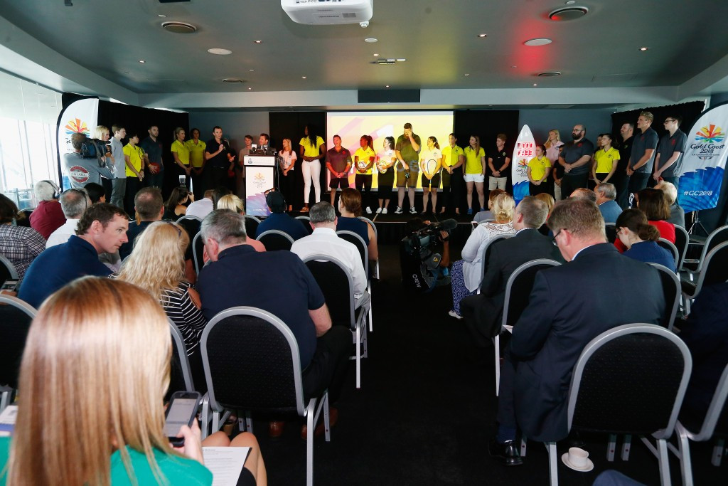 Gold Coast 2018 reveal largest competition schedule for a Commonwealth Games