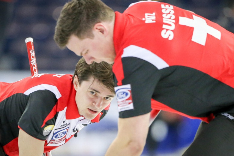 Swiss and Swedes keep pressure on hosts at World Curling Championships