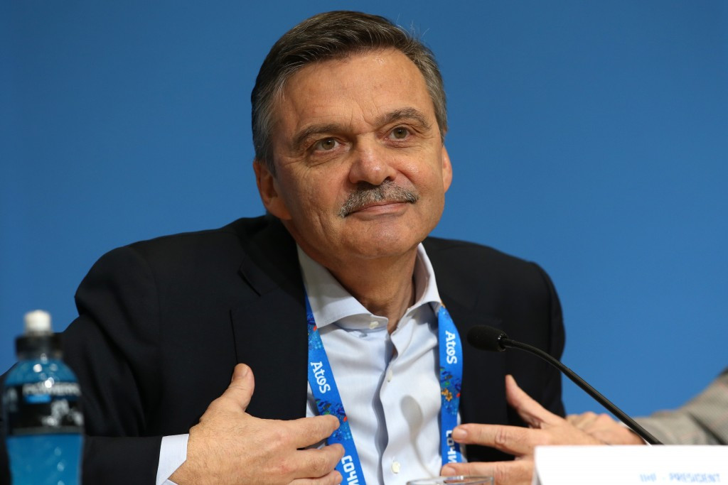 IIHF President René Fasel admitted the world governing body were