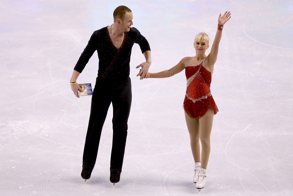 John Coughlin of the United States, pictured with his dance partner Caydee Denney, has been elected onto the ISU Athletes' Commission ©Getty Images