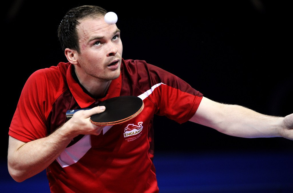 Table tennis duo named as England's first Gold Coast 2018 qualifiers