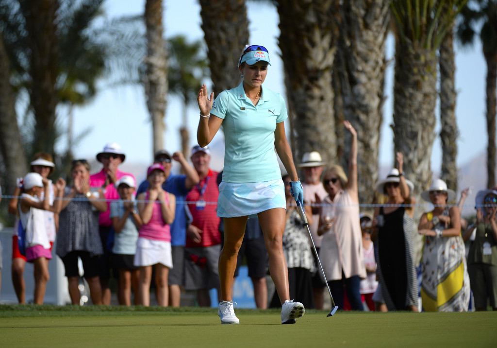 Jimmy Walker and Rickie Fowler have criticised a decision which saw Lexi Thompson, pictured, deducted four strokes at the ANA Inspiration tournament ©Getty Images
