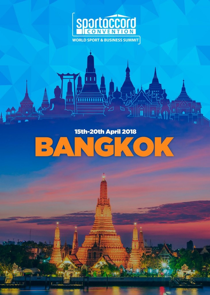 Bangkok awarded 2018 SportAccord Convention