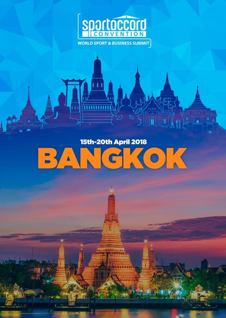 Bangkok awarded 2018 SportAccord Convention