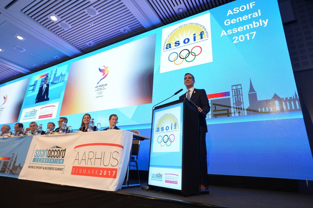SportAccord Convention: Day two