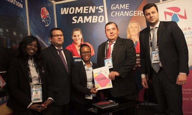 The International Sambo Federation has today become a partner of the International Working Group on Women and Sport ©FIAS